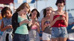 Addicted: They plead that they 'need' their phone. I tell them they 'want' their phone. Stock picture