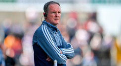 Dublin manager Mattie Kenny during the GAA Hurling All-Ireland Senior Championship preliminary round quarter-final match between Laois and Dublin at O'Moore Park in Portlaoise, Laois. Photo by Sam Barnes/Sportsfile