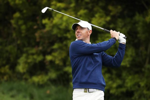 Mr Consistent: Rory McIlroy has secured top-10 finishes in every event he has played this season apart from at the Masters and Memorial tournaments. Photo: Getty