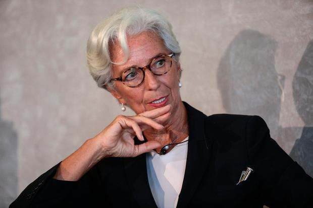 On the money: The impressive CV of Christine Lagarde does not include formal training as an economist. Photo: Simon Dawson/Bloomberg