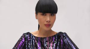 Yomiko wears one of their AW19 dresses