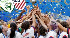 Ireland will play world champions USA in August