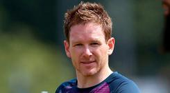 England's Eoin Morgan. Photo: Nigel French/PA Wire