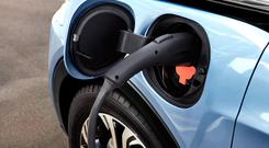 So far this year, 1,943 new EVs have been licensed. Stock Image