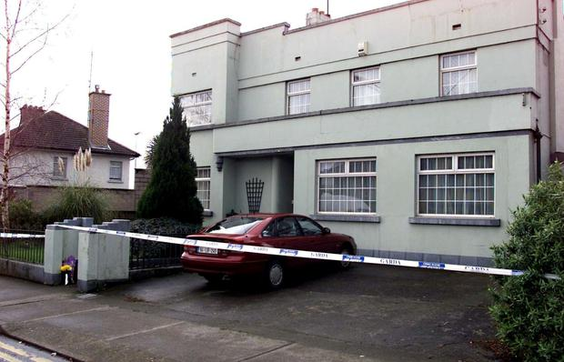 The White's home in Demesne Road. Photo: Ray Cullen