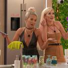 Pictured: Molly-Mae and Amy sing a song for Anna. From ITV Studios. Love Island: SR5: Ep31 on ITV2