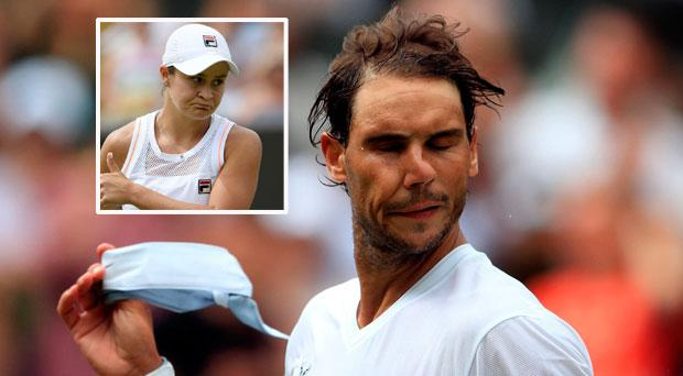 Rafa Nadal says he deserved Centre Court ahead of Ashleigh Barty
