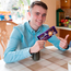 Louis Walsh surprises Callum Callum Clogher at home in Roscommon, Ireland. Credit: Brian Farrell/PA Wire
