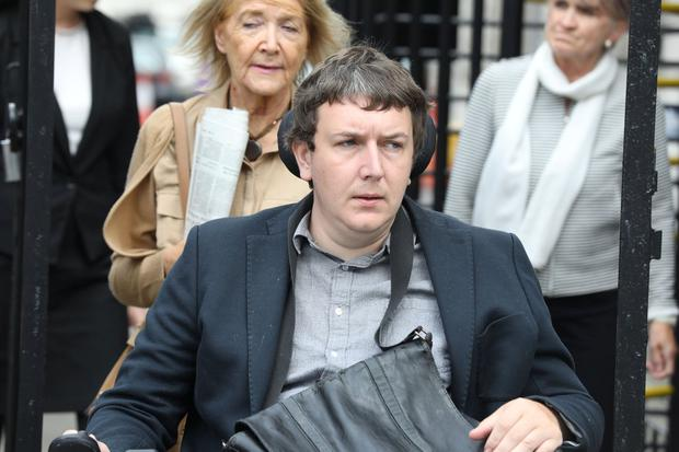 Andrew Curtin, of Ballincurra Gardens, Limerick pictured leaving the Four Courts yesterday(Tues) after a High Court action.Pic: Collins Courts 9/7/19