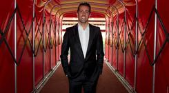 Edu is pictured after being unveiled as Arsenal's first technical director