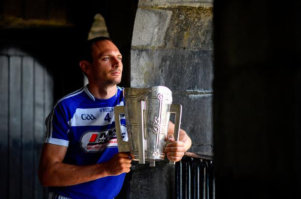 Dreaming big: Laois vice-captain Joe Phelan is hopeful that the O'Moore men can get themselves right, physically and mentally, before Sunday's showdown with Tipperary. Photo by Brendan Moran/Sportsfile