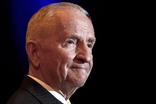 Colourful: Ross Perot's wealth and fame helped propel him into politics. AP Photo/Ed Zurga, File