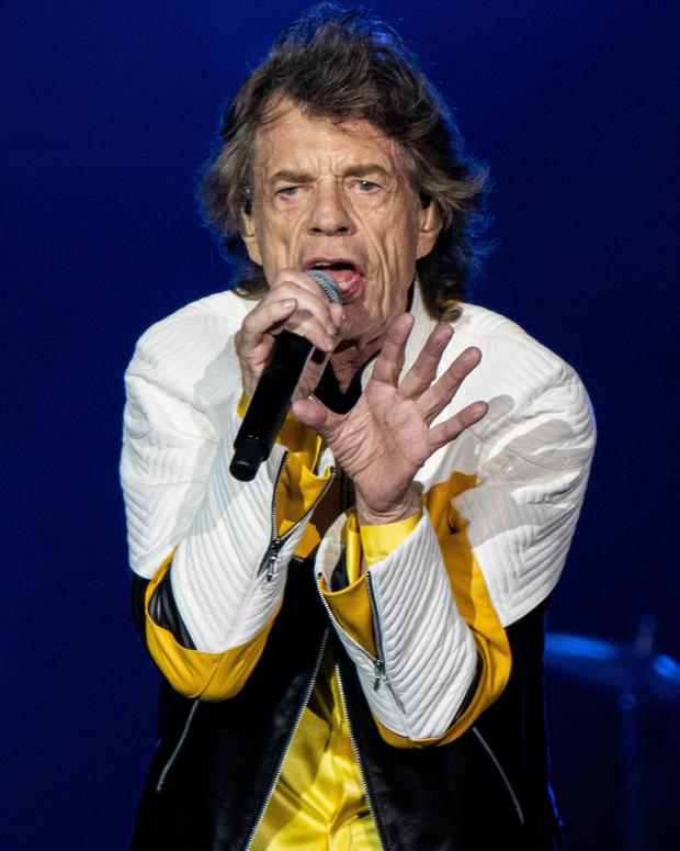 The Stones' US tour had been due to start in April but was delayed after Jagger had to undergo heart surgery. Photo by Robert E. Klein/Invision/AP