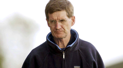 John Bailey had continued to be active in politics. Picture: Sportsfile