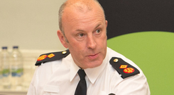 Figures: Garda Deputy Commissioner John Twomey appeared before the Oireachtas Finance Committee yesterday. Picture: Collins