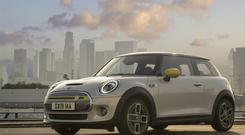 The first official pictures of the Mini EV, which will start in price from €26,890