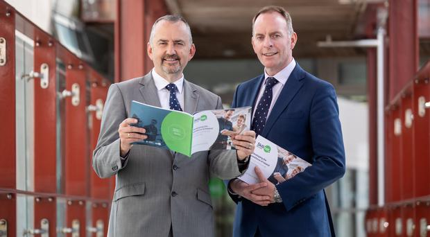 Pictured left to right: Brendan McGinty, Skillnet Ireland Chairperson; and Paul Healy, Skillnet Ireland Chief Executive