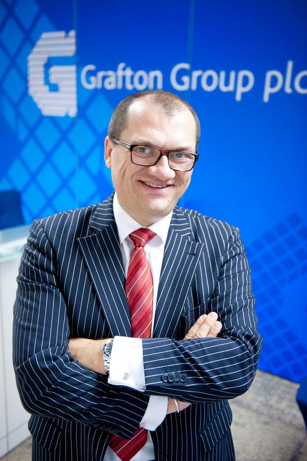 Gavin Slark, chief executive of Grafton Group. Photo: El Keegan
