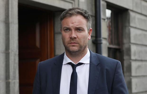'Pepper spray': Gerald Jennings is suing the Garda after another man was jailed for seven years for the attack on his fiancée. Photo: Collins Courts
