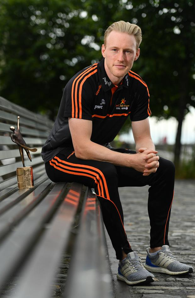 Diarmuid O'Keeffe was named the PwC GAA/GPA Player of the Month for June after two excellent displays against Kilkenny. Photo: Sportsfile