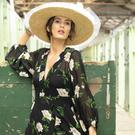 Dress, €418, the Kooples, Dundrum Town Centre. Crinoline boater, €380, Hat Society, The Station House, Taney Drive, Dundrum