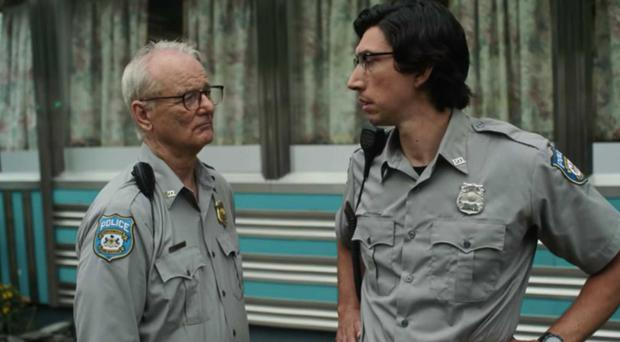 Bill Murray and Adam Driver in Jim Jarmusch's Dead Don't Die