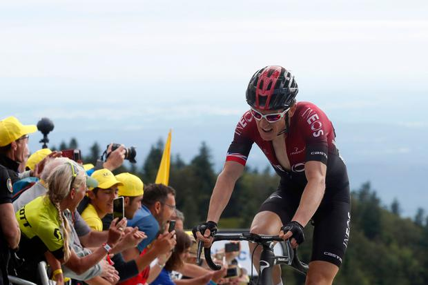 Belgium's Teuns wins Tour de France Stage 6