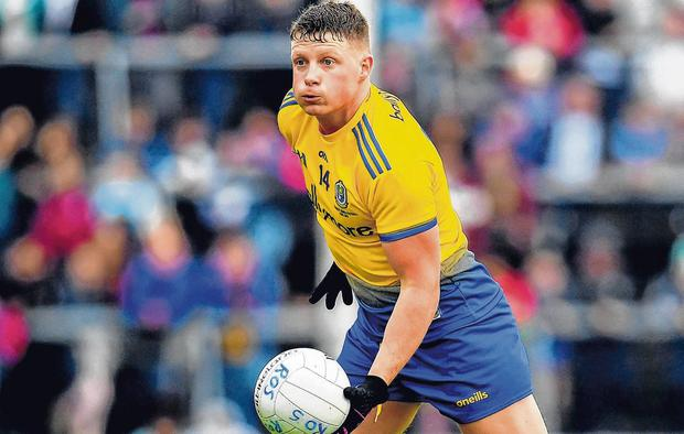 Forward thinking: Roscommon's Conor Cox. Photo by Seb Daly/Sportsfile