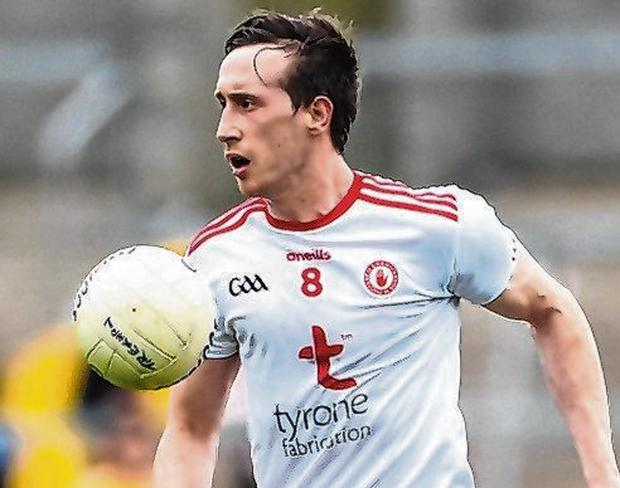 Tyrone's Colm Cavanagh. Photo: Oliver McVeigh/Sportsfile