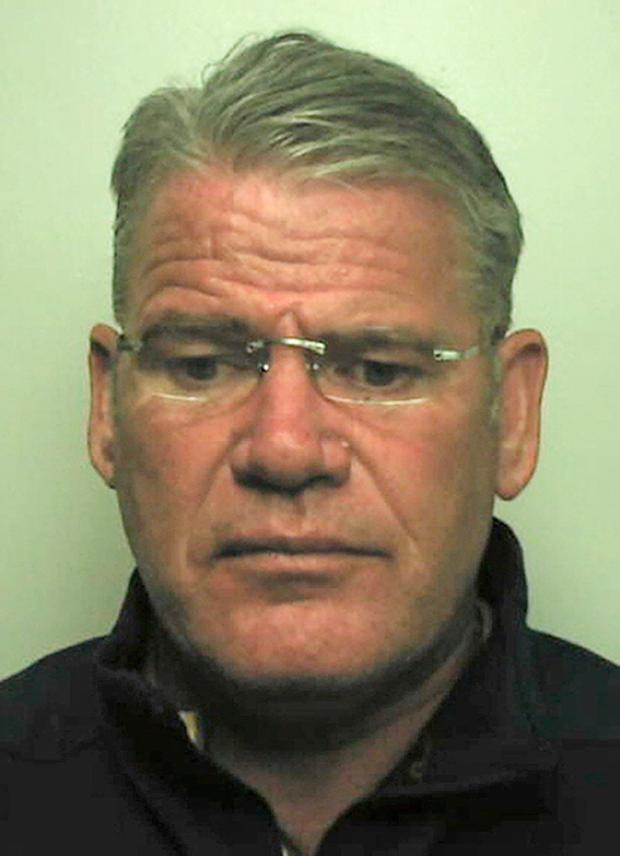 Thomas 'Bomber' Kavanagh mugshot National Crime Agency/PA Wire