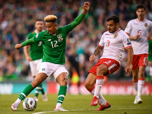 Ireland's Callum Robinson. Photo: Sportsfile