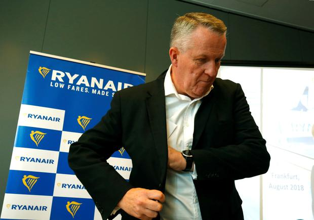 Top Flight: Ryanair chief operating officer Peter Bellew. Photo: REUTERS/Ralph Orlowski