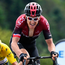Geraint Thomas finished fourth, leading the GC riders over the line. Photo: Getty