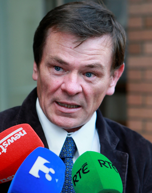Agreement: Willie Noone, union secretary, voiced members' outrage. Photo: Arthur Carron/Collins