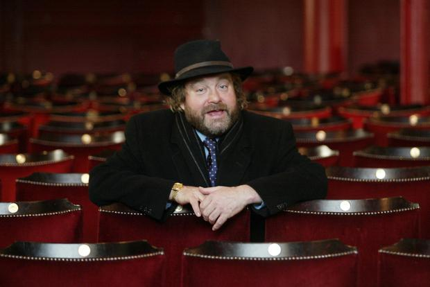 Brendan Grace at the Gaiety Theatre. Photo: Collins Photos