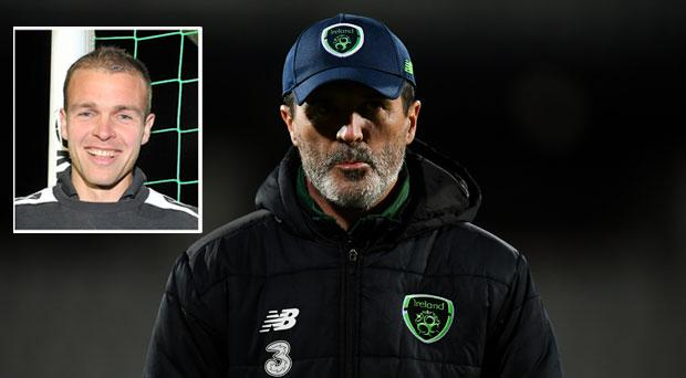 Roy Keane and (inset) Brian Murphy