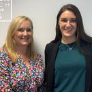 Samantha McCaughren, left, with this week's guest, Iseult Ward, co-founder of Foodcloud