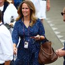 Kim Sears, wife of Britain's Andy Murray before the second round doubles match between Serena Williams of the U.S. and Britain's Andy Murray against Nicole Melichar of the U.S. and Brazil's Bruno Soares REUTERS/Hannah McKay