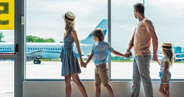 Happy families: The summer holiday season is about to get into full swing