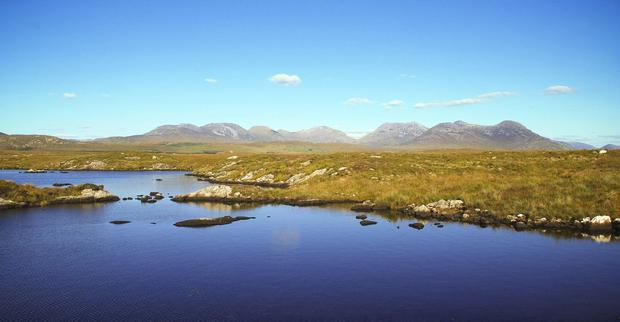 Beauty spot: A Canadian mining company has applied for a prospecting licence at Roundstone in Connemara