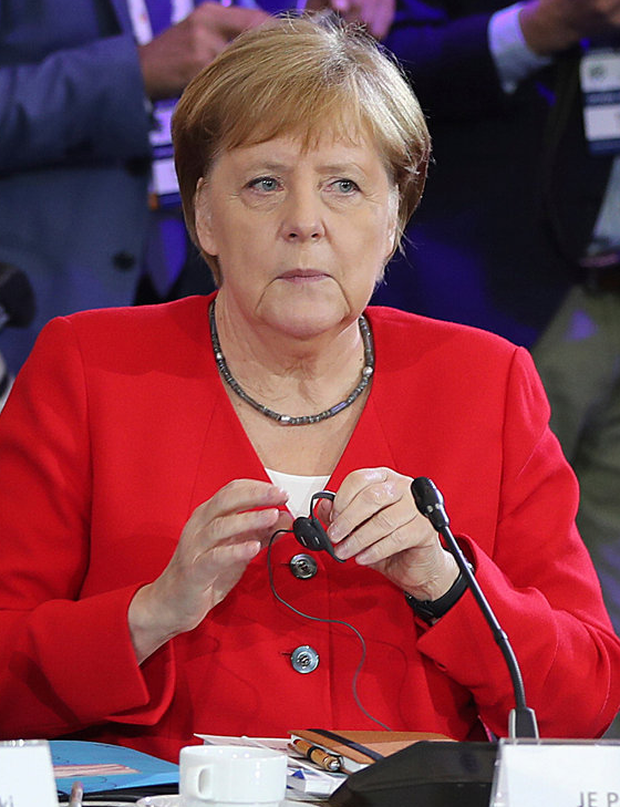 German Chancellor Angela Merkel. Photo: AP Photo/Czarek Sokolowski