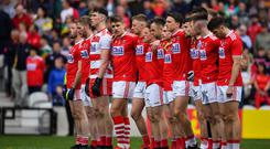 Captain Ian Maguire and his fellow Cork footballers will face a real test of their progress when they take on Dublin in the Super 8s today. Photo: Sportsfile