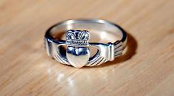 Famous: The Claddagh Ring made by the firm at centre of dispute