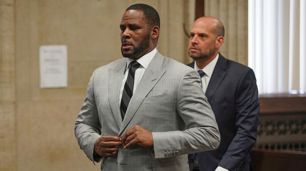 R. Kelly pleaded not guilty to 11 additional sex-related felonies (E. Jason Wambsgans/Chicago Tribune via AP, Pool)