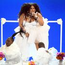 LOS ANGELES, CALIFORNIA - JUNE 23: Lizzo performs onstage at the 2019 BET Awards on June 23, 2019 in Los Angeles, California. (Photo by Kevin Winter/Getty Images)