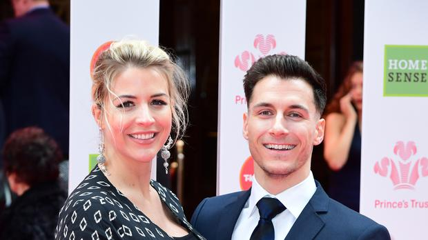 Gorka Marquez shared a sweet post about girlfriend Gemma Atkinson (Ian West/PA)