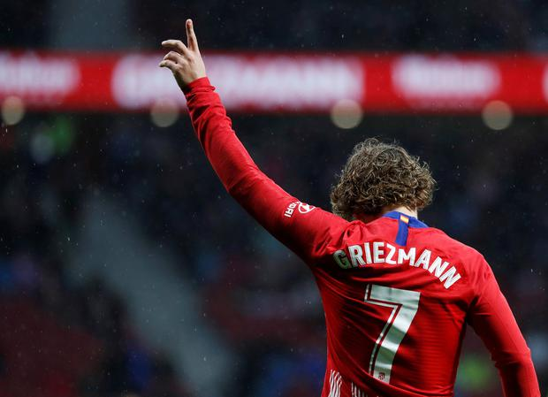 In the documentary La Decisión, Griezmann agonised over his potential exit from Atlético Madrid. Photo: REUTERS/Susana Vera/File Photo