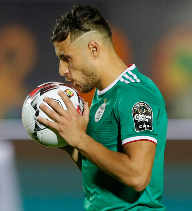 Algeria's Youcef Belaili was hit with a four-year ban after testing positive for cocaine in 2016. Photo: FADEL SENNA/AFP/Getty Images