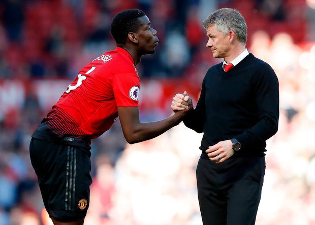 Ole Gunnar Solskjaer gives injury update on Manchester United's Paul Pogba