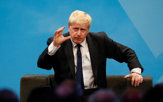Boris Johnson, the favourite to occupy Downing Street, seems utterly determined to leave by October 31, with or without a deal. Photo: REUTERS/Andrew Yates
